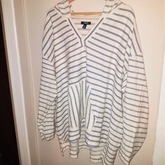 CHAPS Hooded Sweater 3X